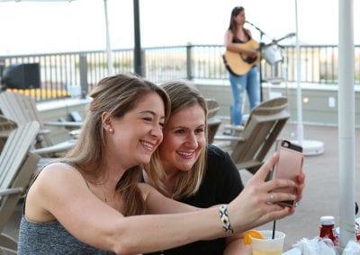 Rooftop Bar Selfie
